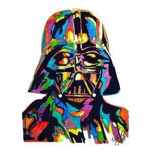 Darth Vader Star Wars Poster Print Wall Art